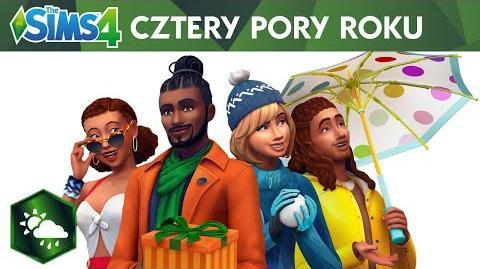 The Sims 4 Cztery pory roku oficjalny zwiastun