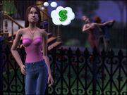 Brygida Serducho z Werony w The Sims 2