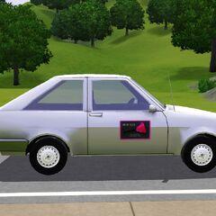 Samochód pokojówki w The Sims 3