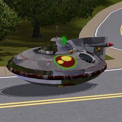 Samochód-UFO (zawartość zmodyfikowana)