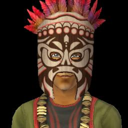 Witch Doctor Headshot