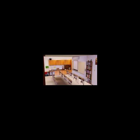 Wnętrze klasy w szkole w The Sims 3