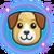 Pies - chowaniec ikona