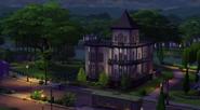 Dom rodziny ćwir w the sims 4 2
