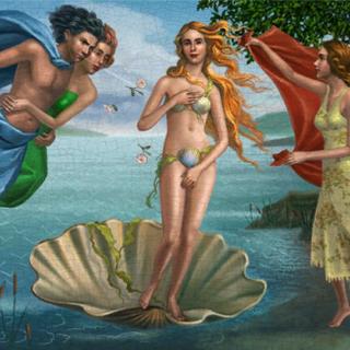 <i>Narodziny Wenus</i> autorstwa Sandro Botticelli