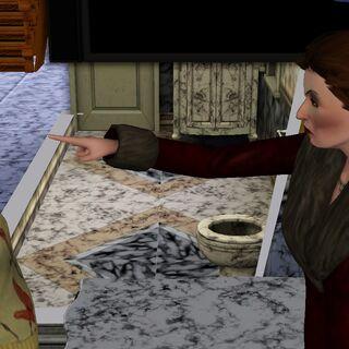 kliknij na zdjęcie, aby zobaczyć. Vita (matka) często krzyczy na Holly. Holly wypomina matce, że ma zły charakter.