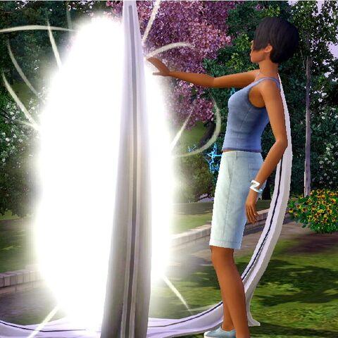 Wehikuł w The Sims 3 Skok w przyszłość