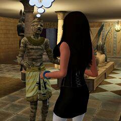 Simka z mumią