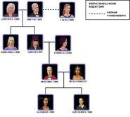 Drzewo genealogiczne Cwirw