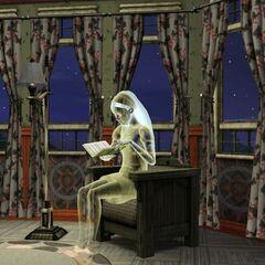 Lolita czytając książkę