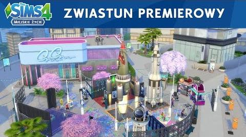 The Sims 4 Miejskie życie zwiastun premierowy