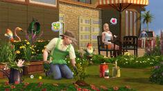 Ogrodnik w The Sims 4