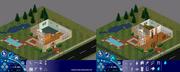 The Sims - tryb kupowania i tryb budowania