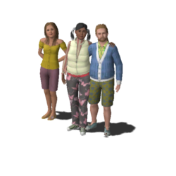 Hart Family (The Sims 3)