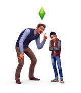 TS4 Być rodzicem - render4