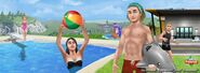 The Sims FreePlay - Pool Party