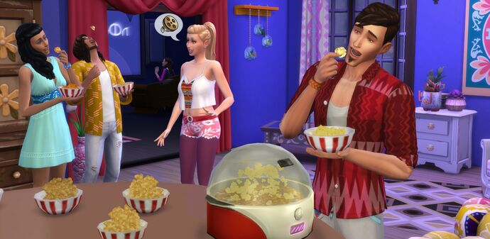 Popcorn w ts4