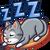 Leniwy (kot)