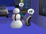 Bałwan i pingwin