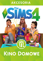 The sims 4 kino domowe okladka