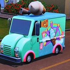 Ciężarówka z lodami