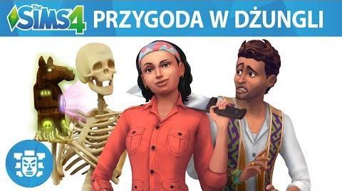 The Sims 4 Przygoda w dżungli oficjalny zwiastun