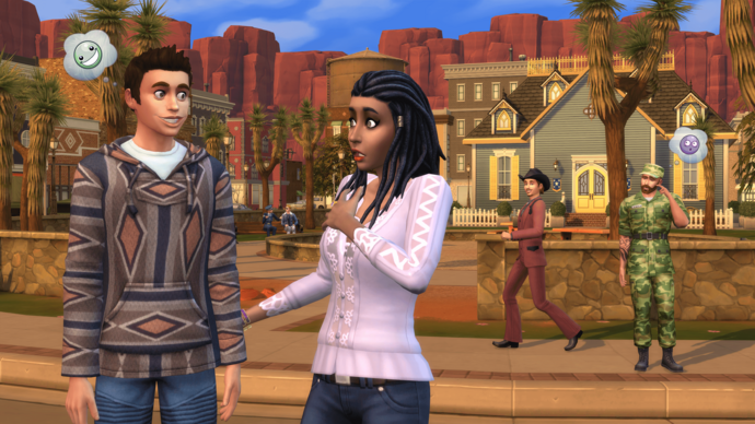 The Sims 4 Strangerville 1