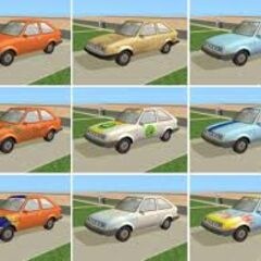 Samochód Smuga Minima