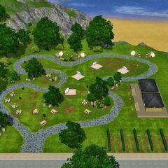 Park lub miejsce festiwali