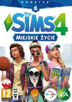 The sims 4 miejskie życie - okladka