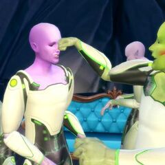 Grupa Kosmitów z The Sims 4