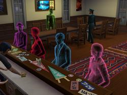 Duchy w barze
