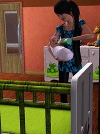Karmiąca-matka