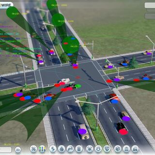Symulacja ruchu drogowego