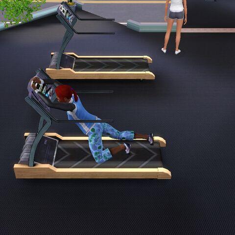 Monika ćwiczy