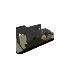 Dom Landgraabów od góry