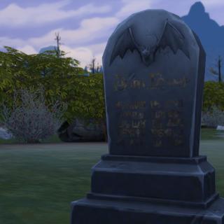 Nagrobek Wampira w The Sims 4