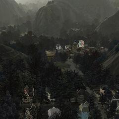 ogólna panorama miasta