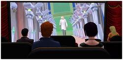 Ekran filmowy Wielki jak Życie