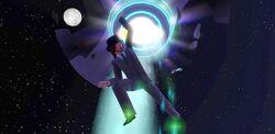 Sim porwany przez kosmitów