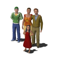 TS3 Bachelor Family Picture