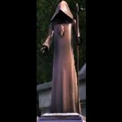 Posąg Mrocznego Kosiarza w <i>The Sims 3</i>