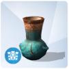 Zdobiony omiskański wazon