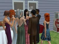 Przyjęcie w The Sims 2