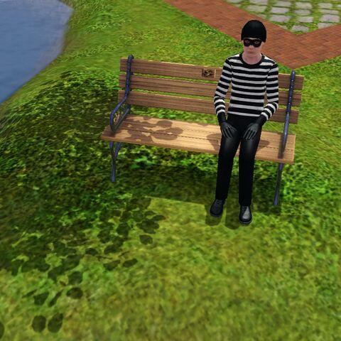 Robbiego bardzo często można spotkać w parku, szczególnie na festiwalach sezonowych