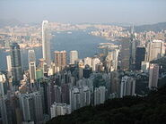 250px-Hong Kong view from The Peak 01