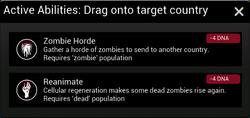 Necroa active abilities