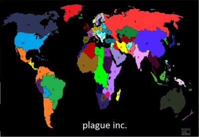 Plague Inc. World flasks