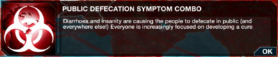 Public Defecation symptom combo