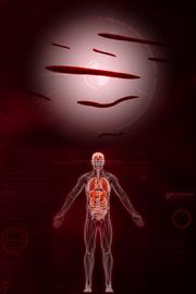 Сложный геном паразита